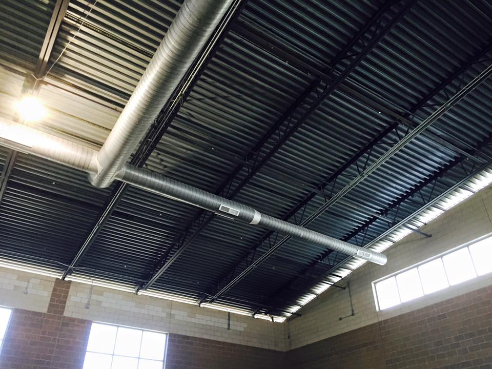 Boys and Girls Club Exposed Duct 2