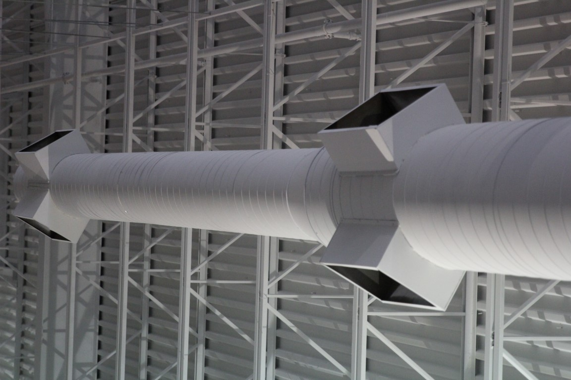 Commercial White Duct 2