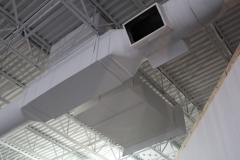 Commercial White Duct