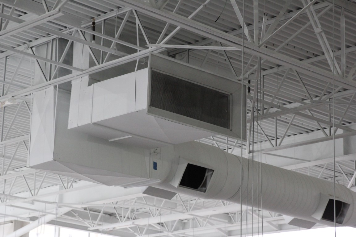 Commercial White Duct 3